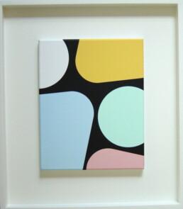 Jan van der Ploeg 2006 Untitled acrylic on canvas 250mm x 200mm
