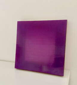 Johl-Dwyer - Candle resin on plywood - 2017