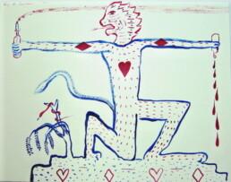 Tony de latour 2003 Untitled ink on paper 400mm x 500mm